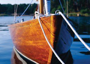 Træplejende bådmaling
